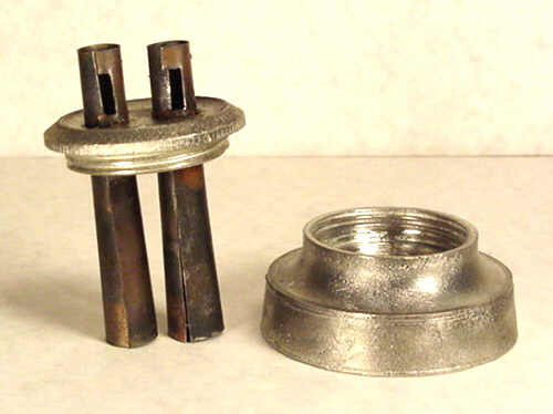 Pewter Burner & Collar