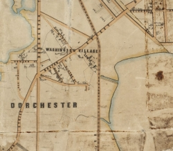 1852 Boston Map