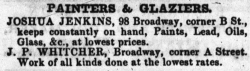 1850 Boston Directory Advertisement
