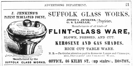 1863 Boston Directory Advertisement