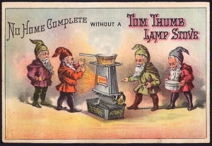 Tom Thumb Lamp Stove