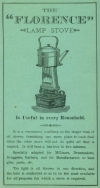 Florence Lamp-Stove Advert.