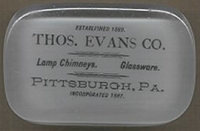 Thomas Evans Paperweight