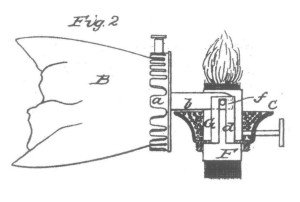 Spencer's Burner Patent