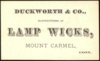 Wick Maker Card